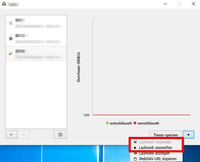 Automating vault locking via Windows - Desktop App - Cryptomator
